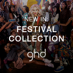 New in: The ghd Festival Collection