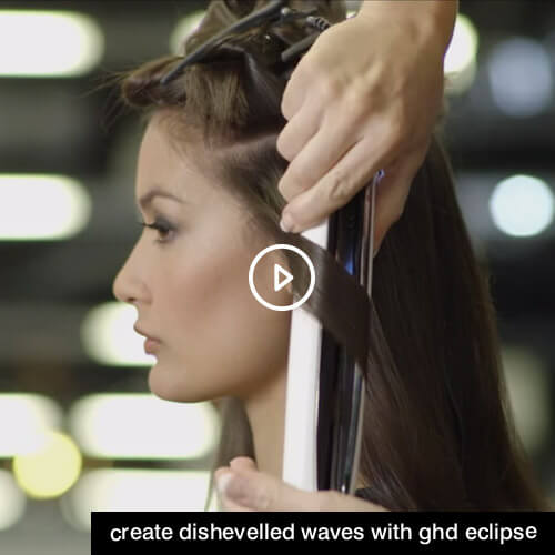 Create dishevelled waves with ghd Eclipse