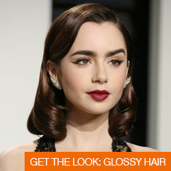 Get The Look: Glossy Hair