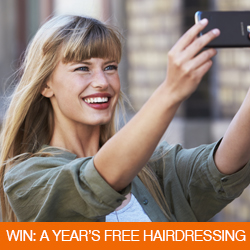 Win A Year's Free Hairdressing
