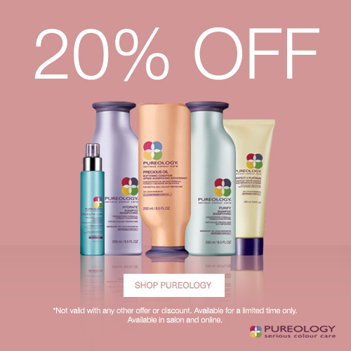 20% Off Pureology