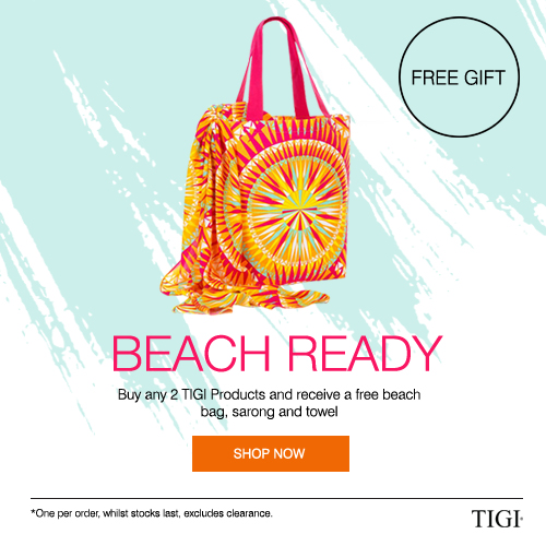 Free Tigi Beach Pack