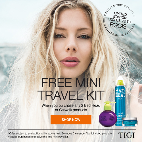 Free Tigi Travel Pack