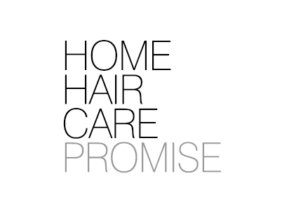 HOME HAIR CARE PROMISE