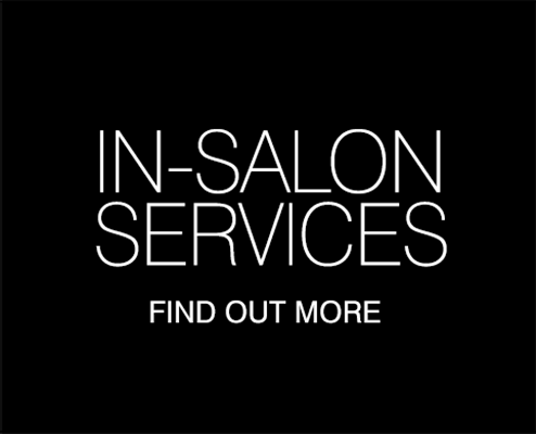 In-salon services - Find out more