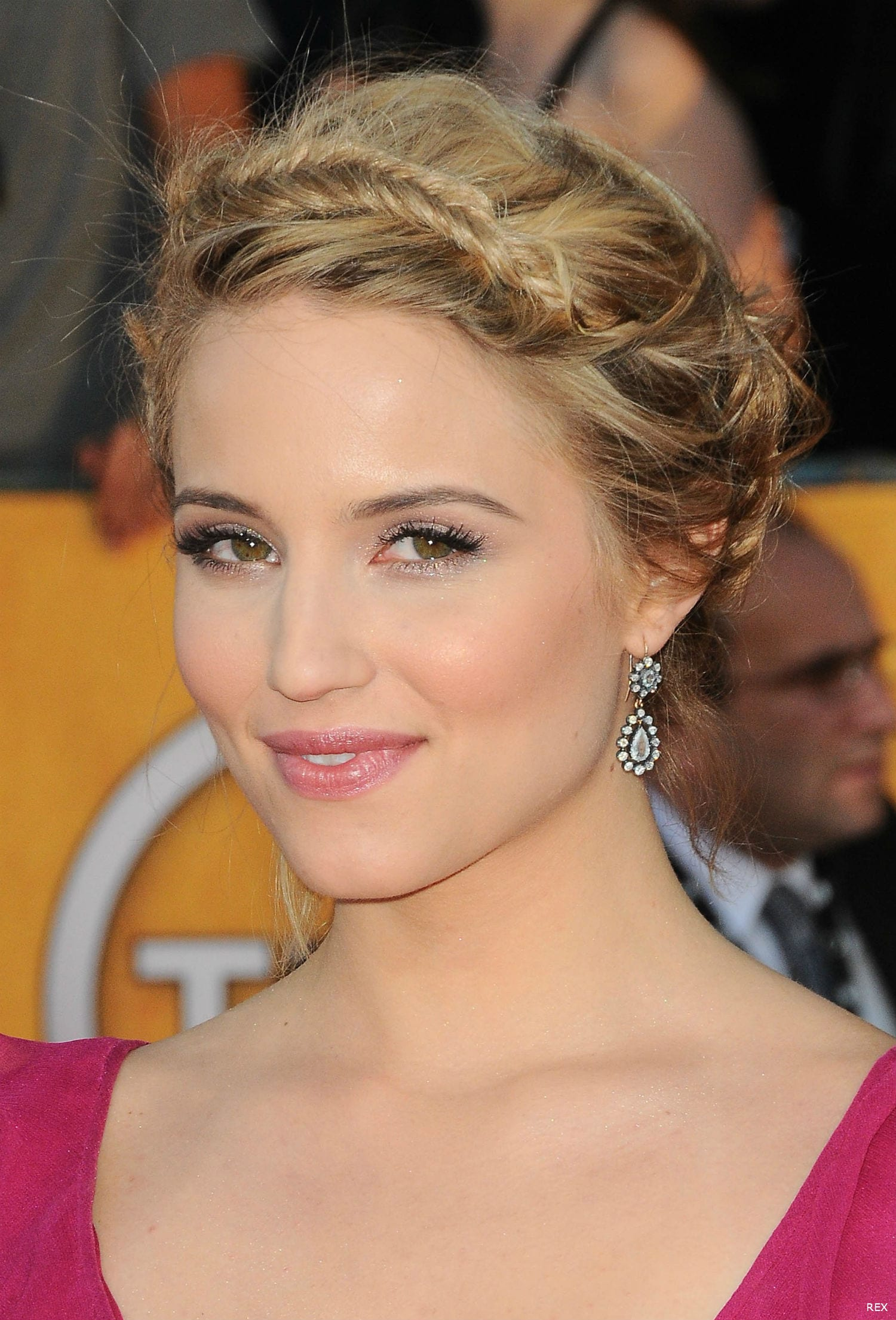 Dianna Agron hair at the Screen Actors Guild Awards