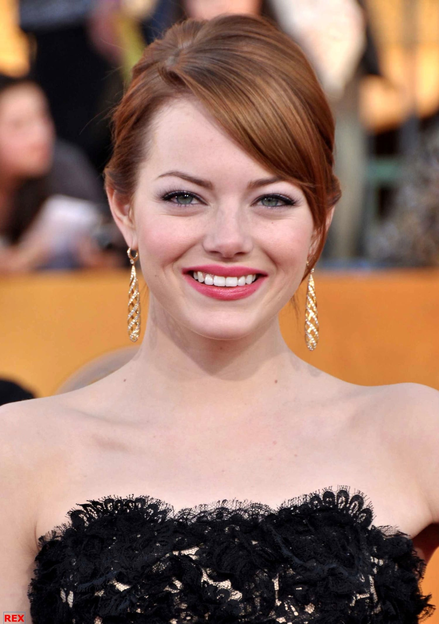 Emma Stone's Hair at the Screen Actors Guild Awards