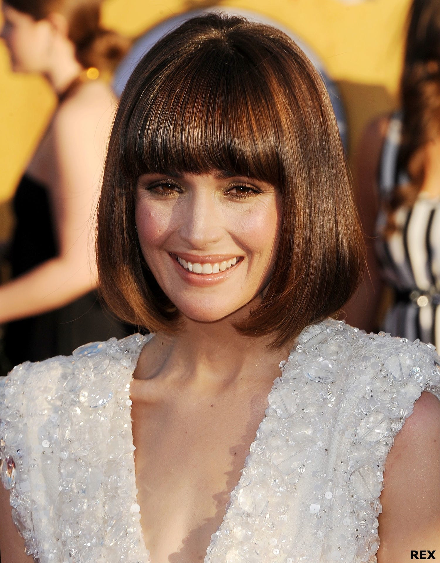Rose Byrne hair at the Screen Actors Guild Awards