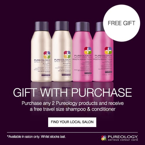 Pureology gift with purchase