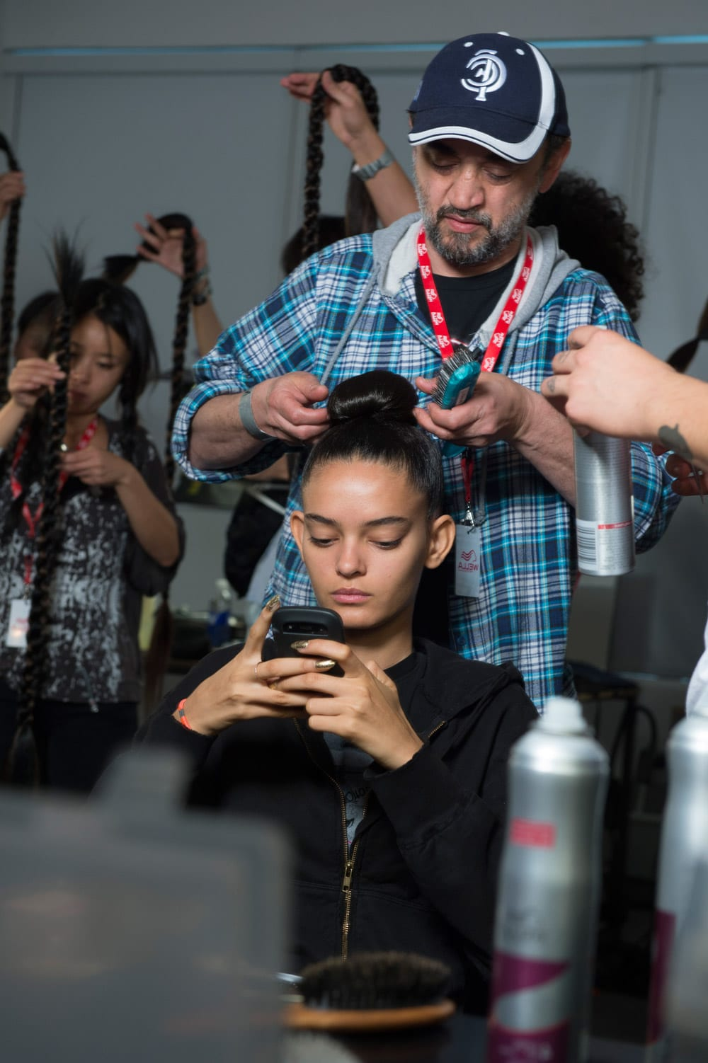 JeremyScott show NY Fashion Week Backstage