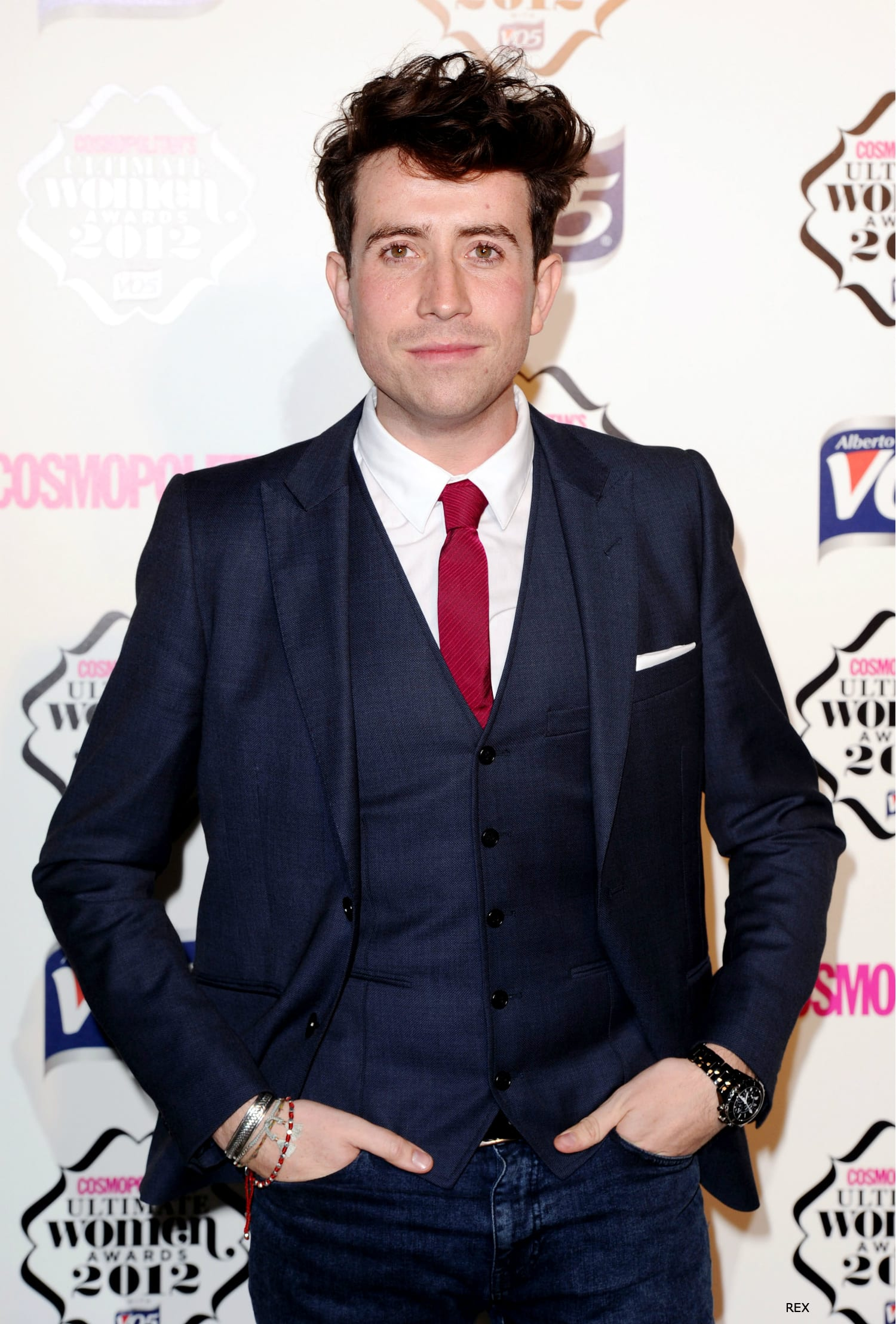 Nick Grimshaw Rocks The Wild One Quiff On Cosmo Red Carpet