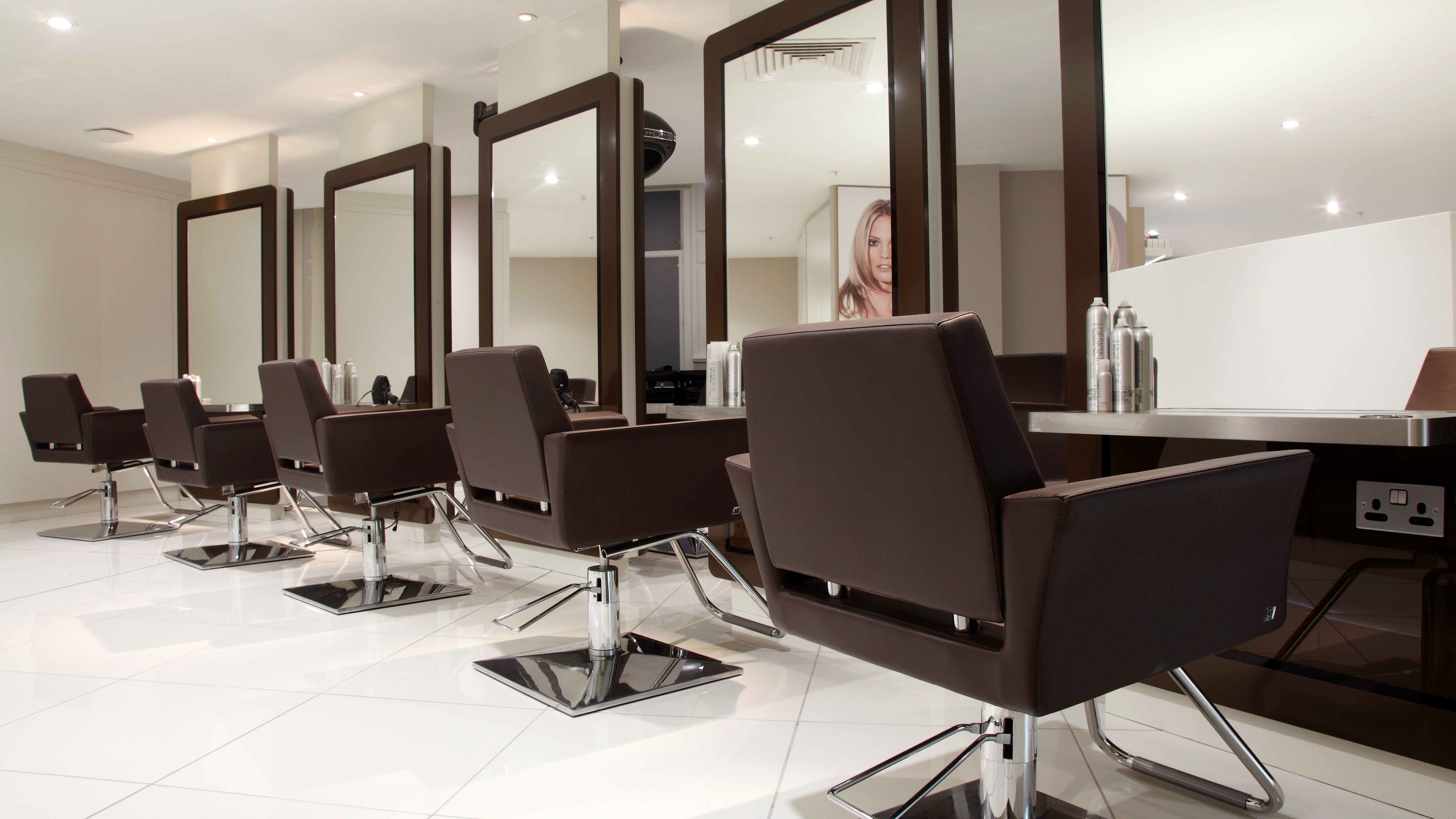Regis hair salon in Edinburgh jenners