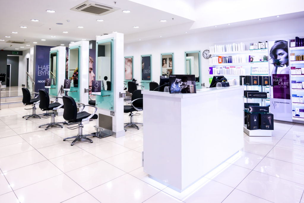 regis hair salon in gateshead, metrocentre
