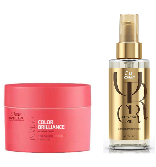 Wella Professionals Mask and Luxe Oil