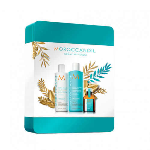 Moroccanoil Volume Keepsake Tin Gift Set