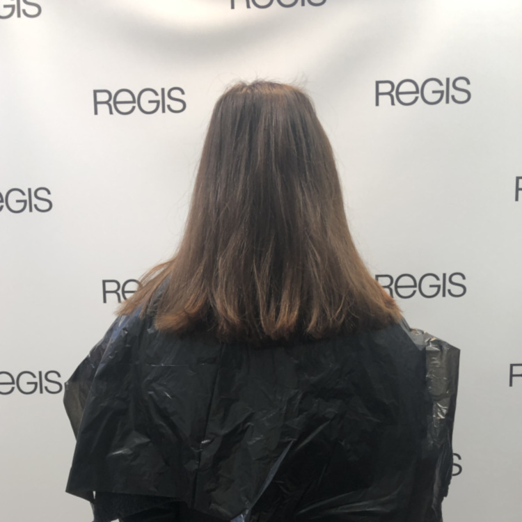 Sonia before hair pic at Regis Salon Birmingham