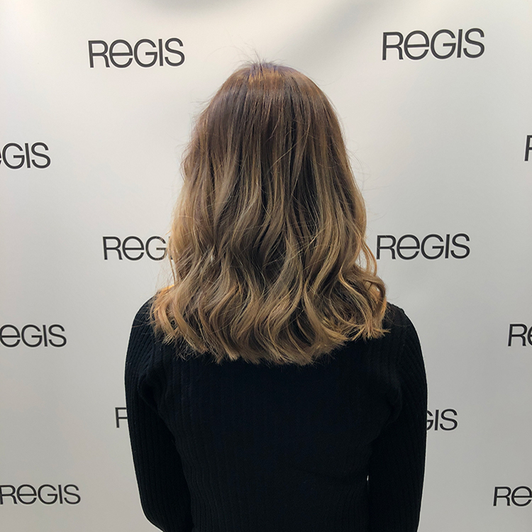 Sonia after hair pic at Regis Salon Birmingham
