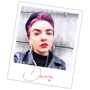 Dana stylist Polaroid picture