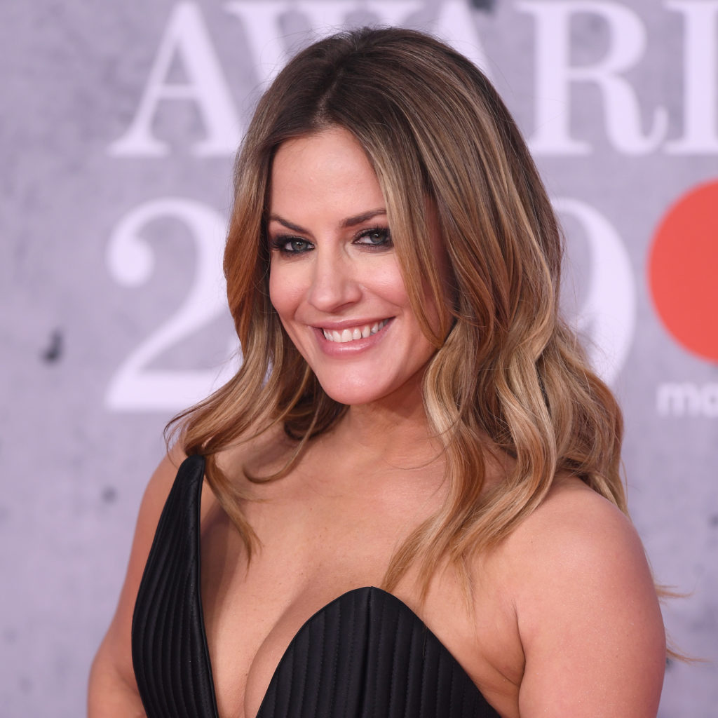 Mandatory Credit: Photo by David Fisher/REX/Shutterstock (10110752gq) Caroline Flack 39th Brit Awards, Arrivals, The O2 Arena, London, UK - 20 Feb 2019
