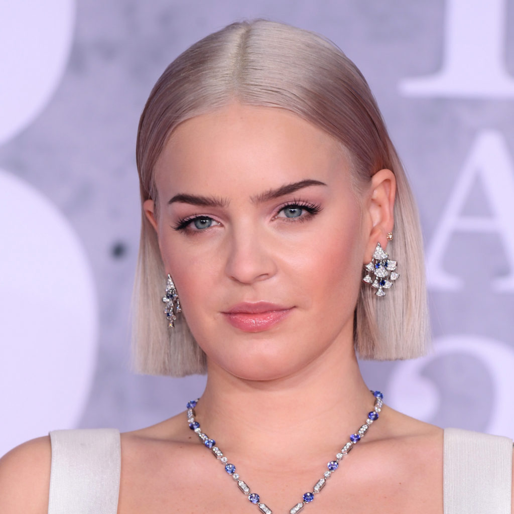 Mandatory Credit: Photo by David Fisher/REX/Shutterstock (10110752kk) Anne-Marie 39th Brit Awards, Arrivals, The O2 Arena, London, UK - 20 Feb 2019