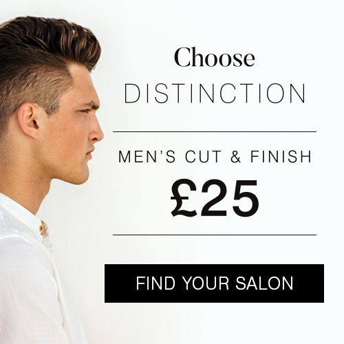 Men's cut & finish