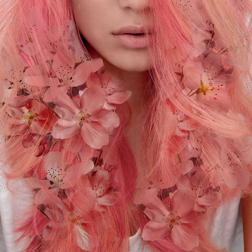 Wella pastel pink coral Colour Fresh Create colour range