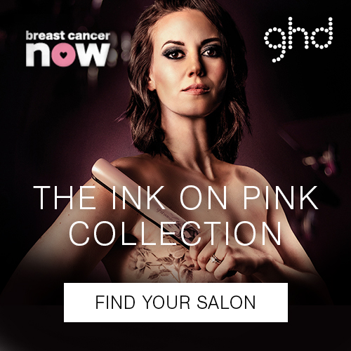 Ink on Pink GHD