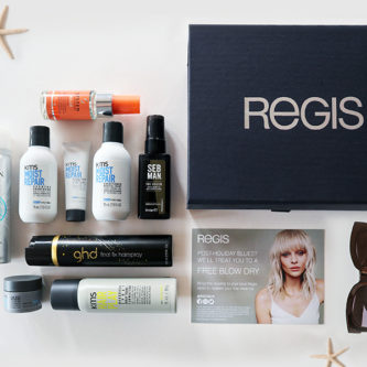 Regis salons beauty box travel edition