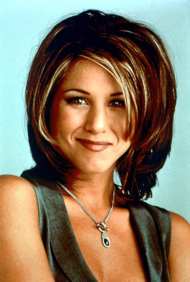 The rachel cut Jennifer Aniston