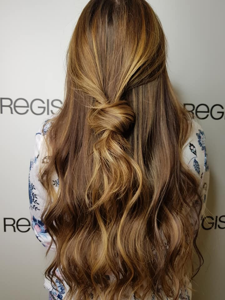 Stylist Daiva Regis Kingston Salon Sunflower Blonde Balayage Hair