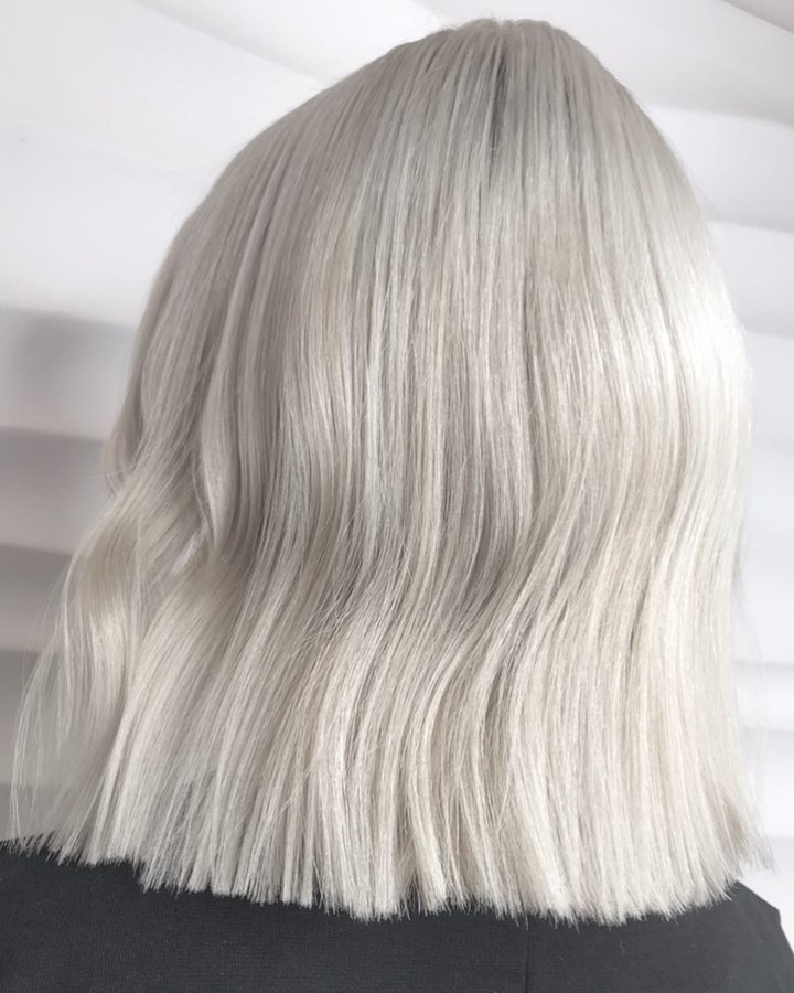 Wella hair instagram white blonde