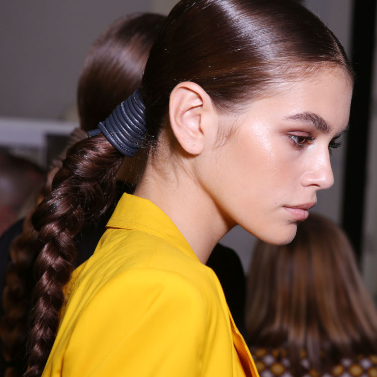Max Mara show power braid