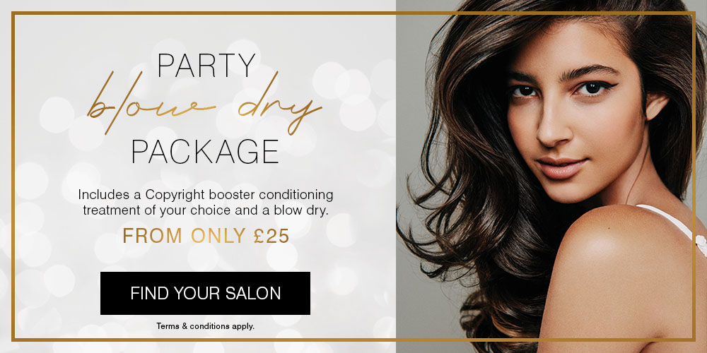 Party blow dry package
