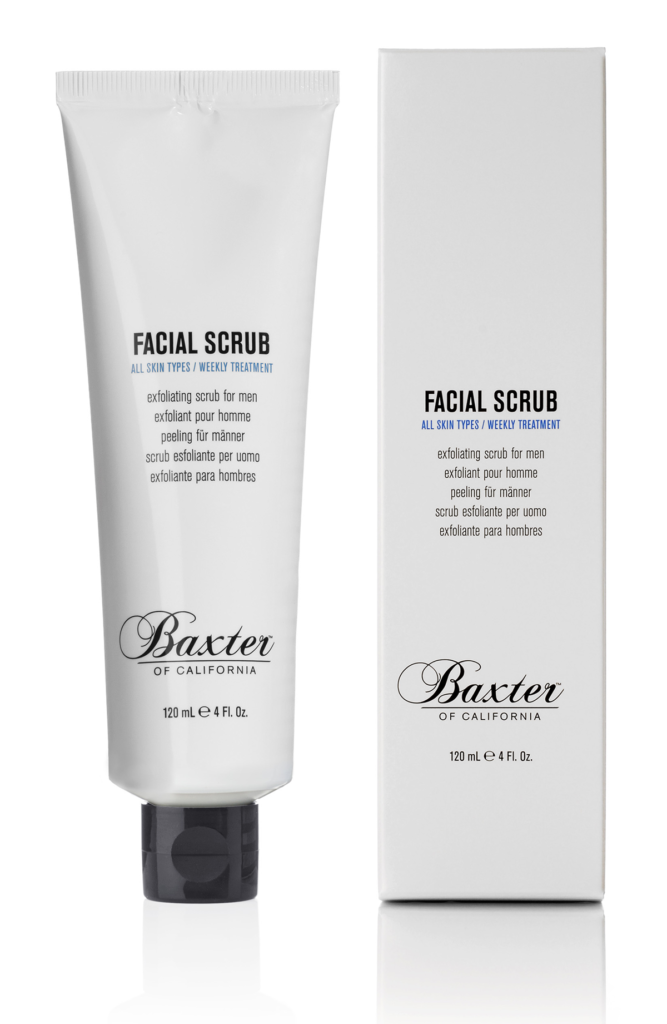 Christmas gift ideas Baxter of California Facial Scrub