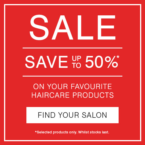 Up to 50% off in salon