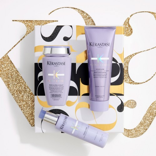 Christmas gift ideas Kerastase Blond Absolu giftset