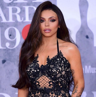 Valentine's Hairstyles Jesy Nelson Glam Long Hair