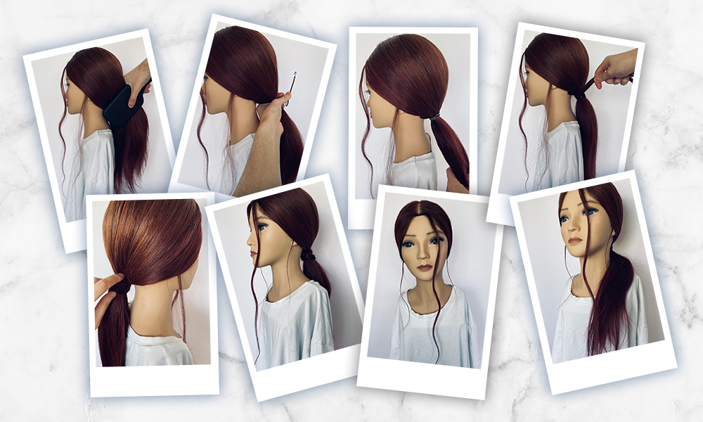 Regis Relaxed Ponytail Guide