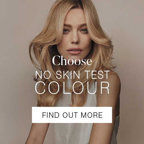 No skin test colour