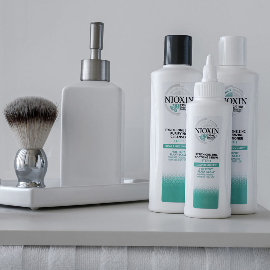 Hair Loss Nioxin Scalp Recovery 3-Step System Kit