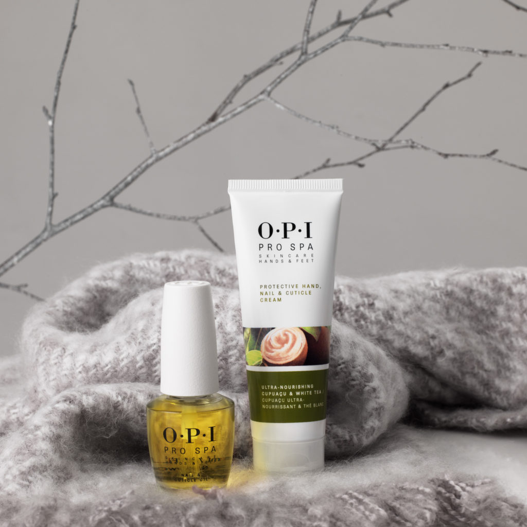 Regis nail care OPI Protective Hand, Nail and Cuticle Cream and Cuticle Oil