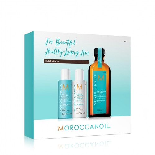 Regis Christmas gift ideas Moroccanoil Hydrate Giftset