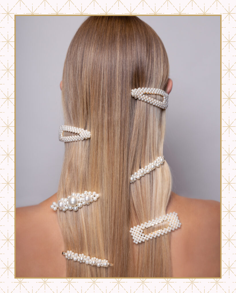 Regis Hairstyles 2020 Scattered Pearl Clips