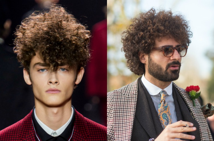 AW16 Mens Hair Trends Curls