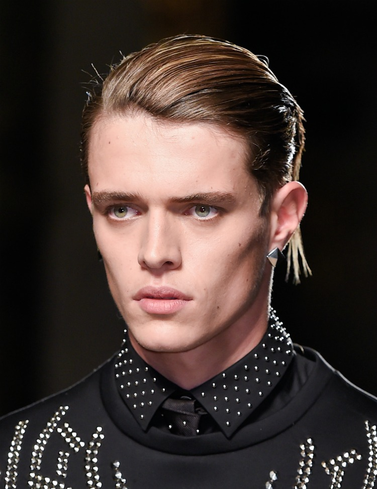 AW16 Mens Hair Trends Slick Back