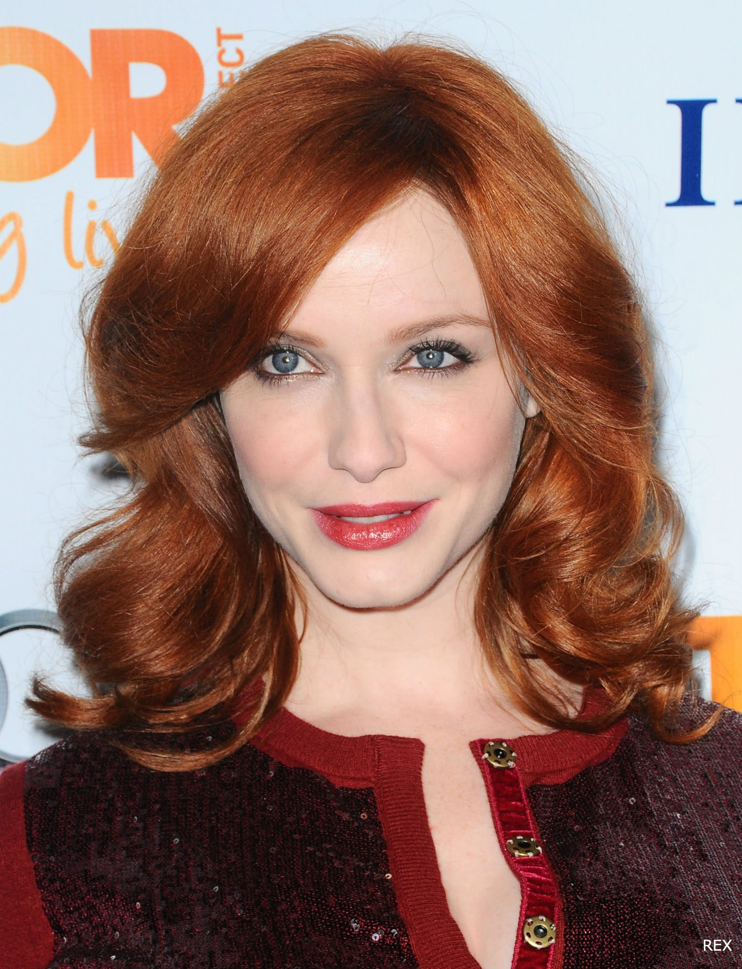 Ravishing reds our top redhead celebrities for Curly hair salon uk