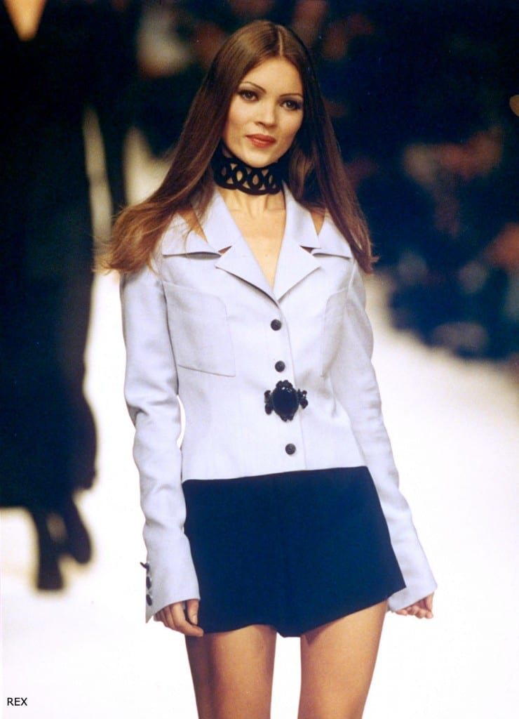Kate Moss First runway for John Galliano in 1993