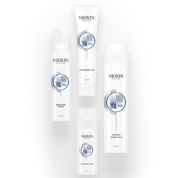 Nioxin Style Prothick Group Shot 2