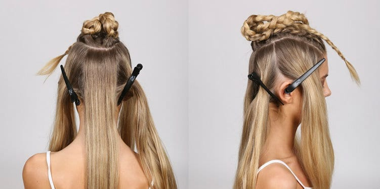 Step 7 - Braided Chignon - Copy