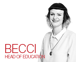 Meet the team - Becci